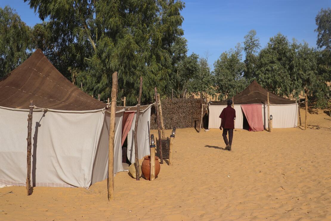 Senegal'de Atlantik Okyanusu'na komşu 'cep çölü': Lompoul
