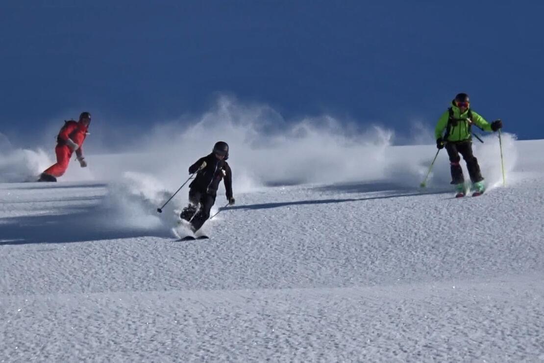 Avrupalı kayakçılar, Kaçkarlarda