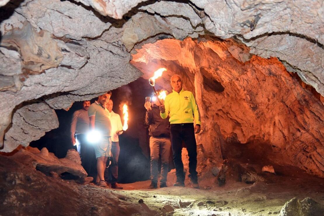 Siverek'te Bizans döneminden kalma mağara bulundu