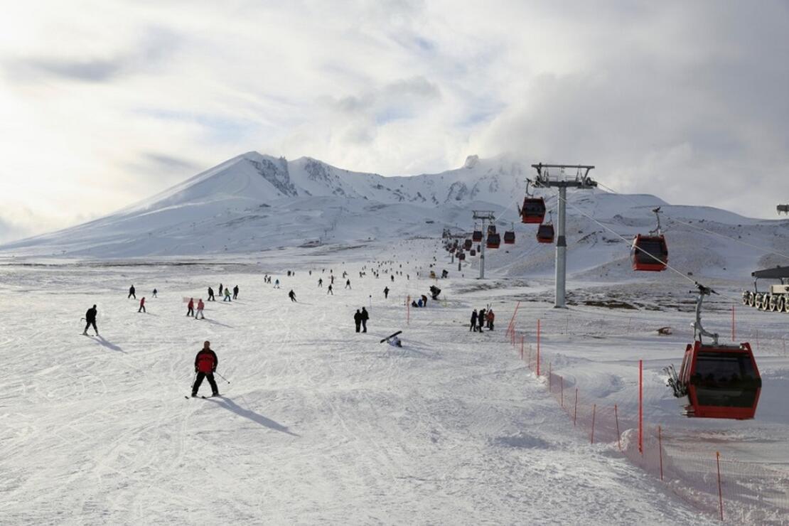 Sömestr'da kayak tatili molası