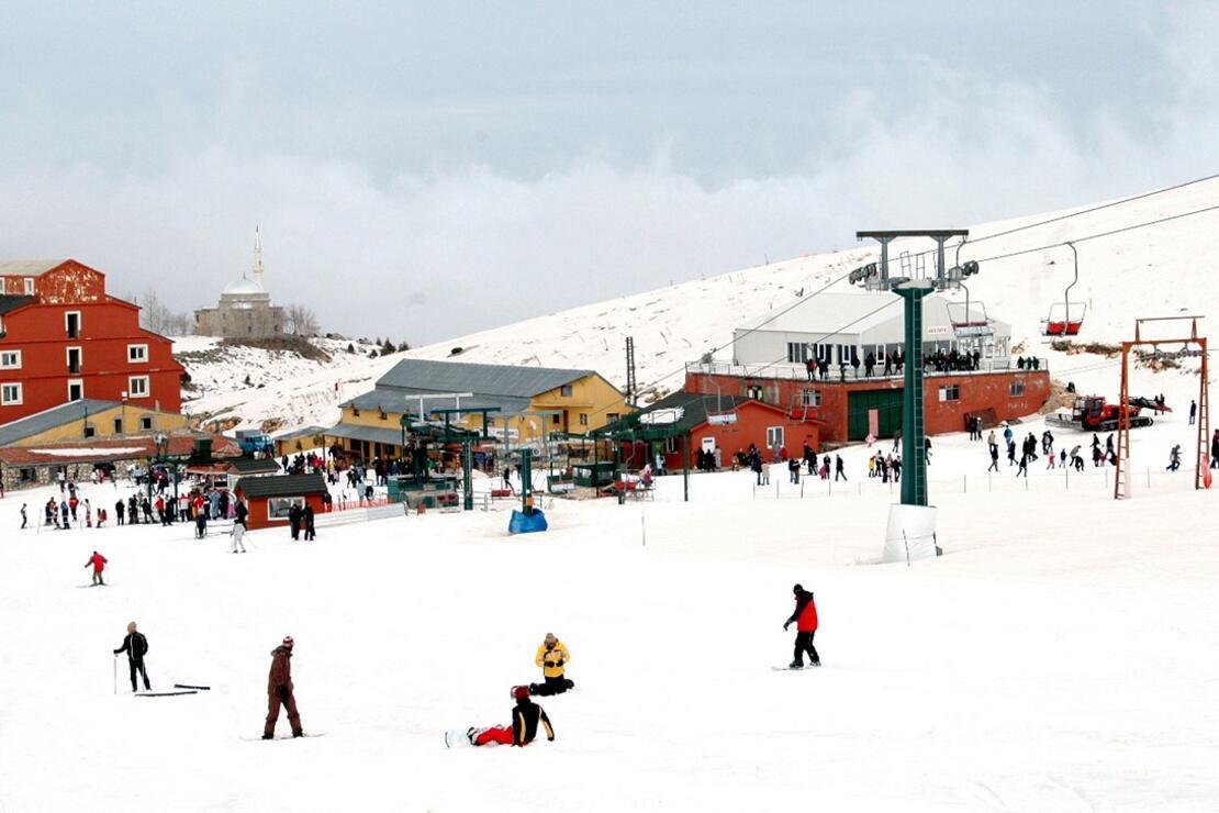 Yarıyıl tatilinin gözdesi kayak merkezleri