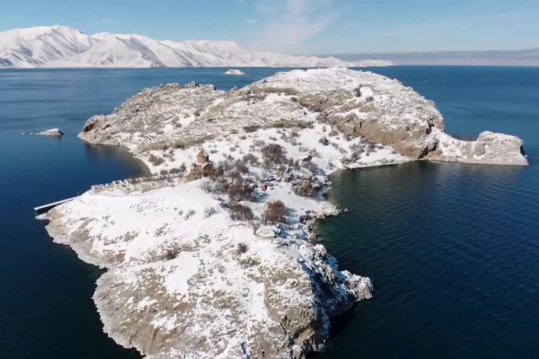 Van'ın turizmdeki göz bebeği: Akdamar Adası