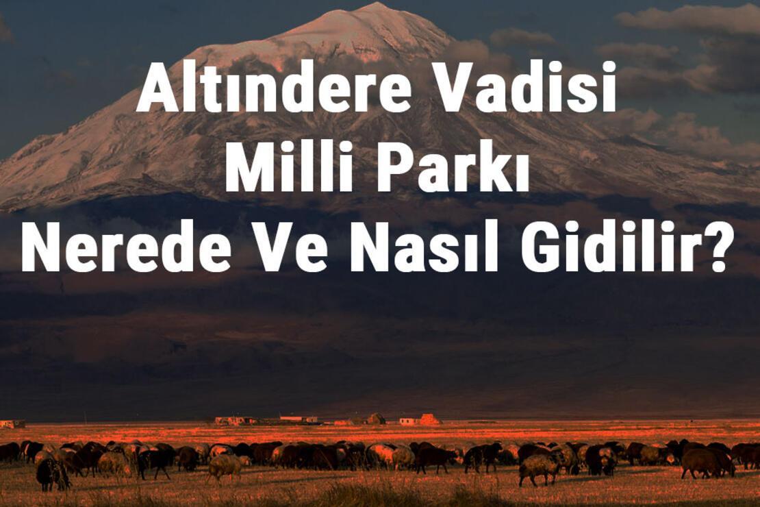 Altındere Vadisi Milli Parkı Nerede Ve Nasıl Gidilir? Altındere Vadisi Milli Parkı Konaklama, Kamp, Giriş Ücreti Ve Özellikleri Hakkında Bilgi
