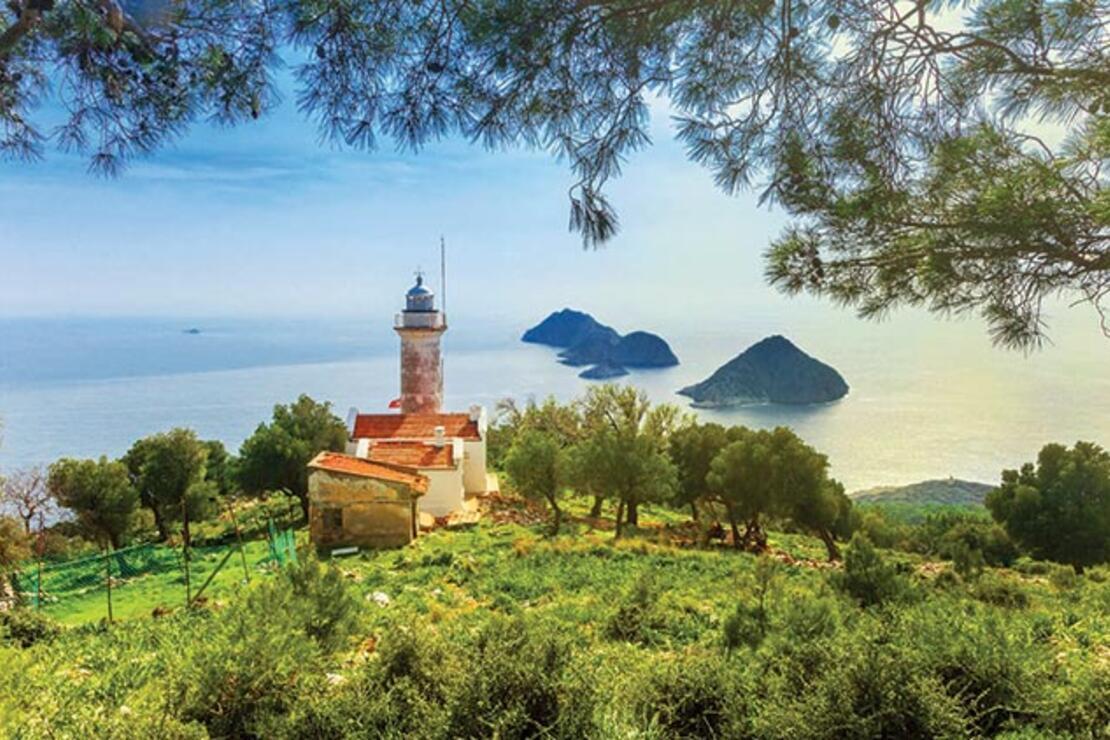 Likya Yolu'nun en güzel manzaralı 8 noktası