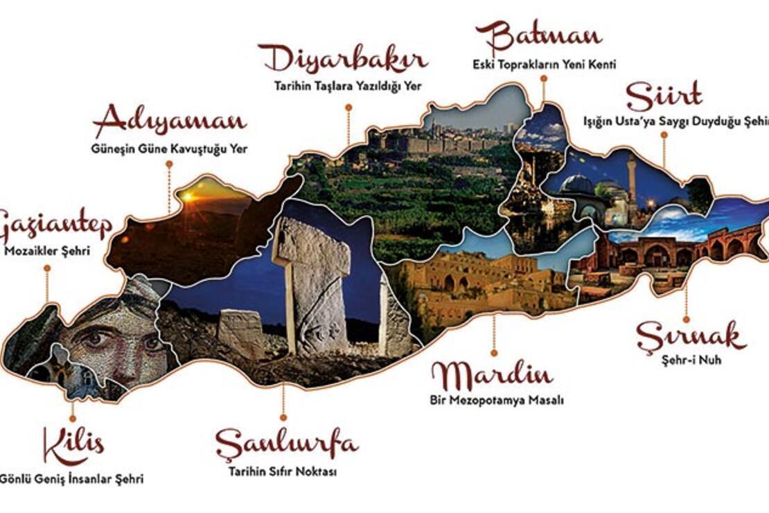 Burası Mezopotamya: Seyahat için ne ararsan var