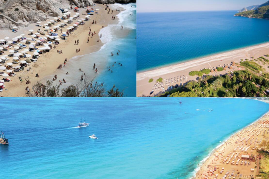 Akdeniz'in incisinin en güzel plajları
