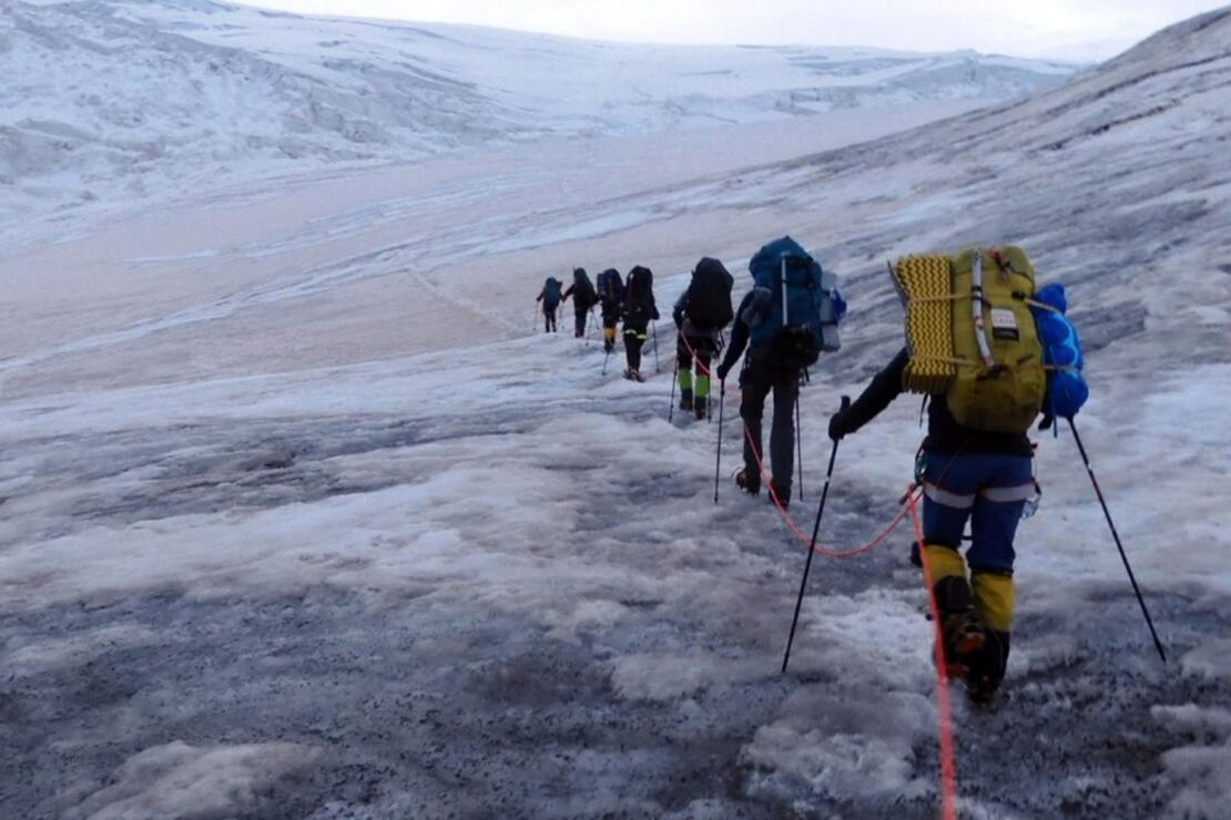Tarihi bir tırmanış: İHH ekipleri zirvede