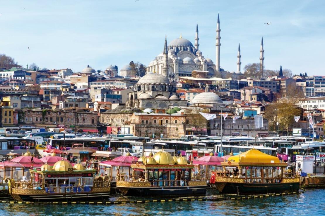 Gezginlerin favorisi İstanbul