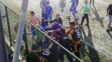 Amatör maçta kavga çıktı 9 oyuncuya seyirden yasaklama tedbiri...