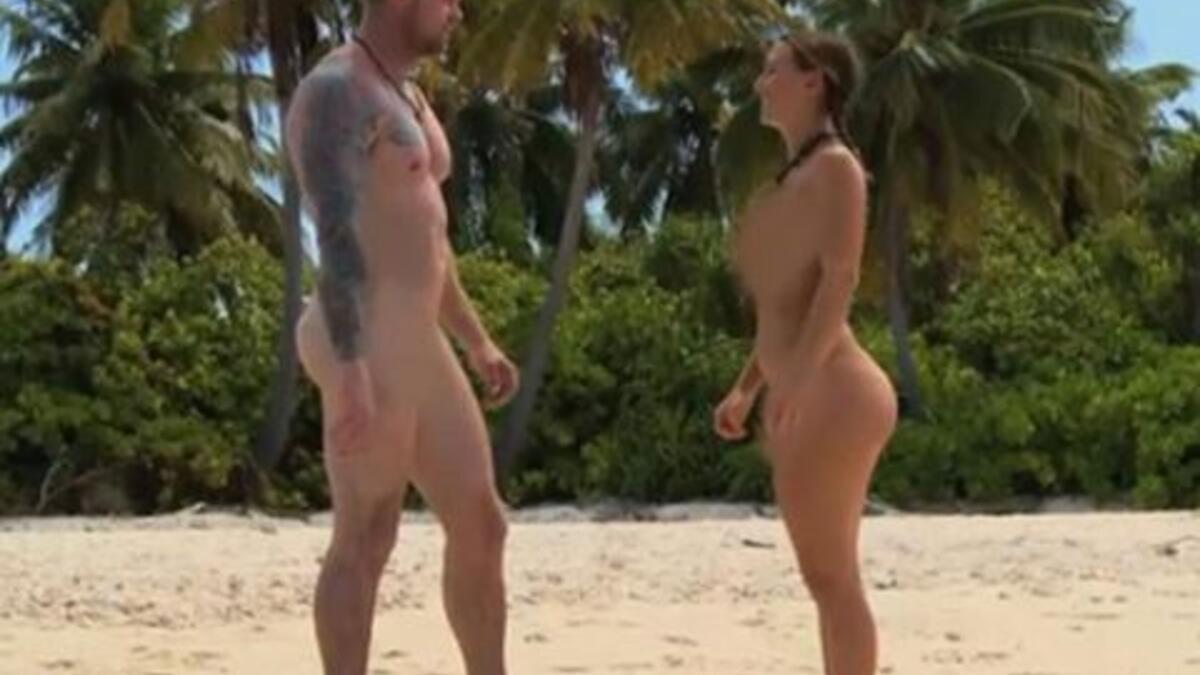 Amerikan televizyonundan çıplak Survivor - Eğlenceli Komik