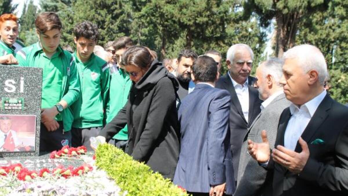 Bursa Haberleri - Bursaspor'un eski başkanı merhum İbrahim Yazıcı anıldı -  Yerel Haberler
