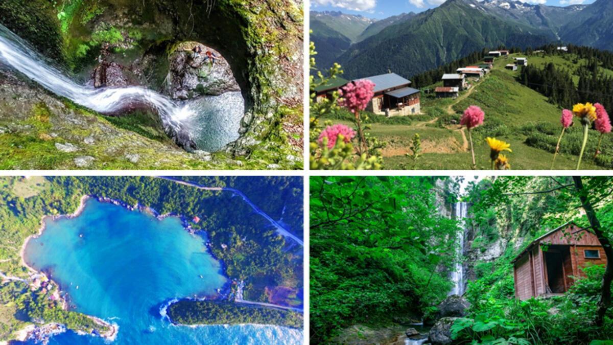 Karadeniz'in en güzel 10 doğa harikası