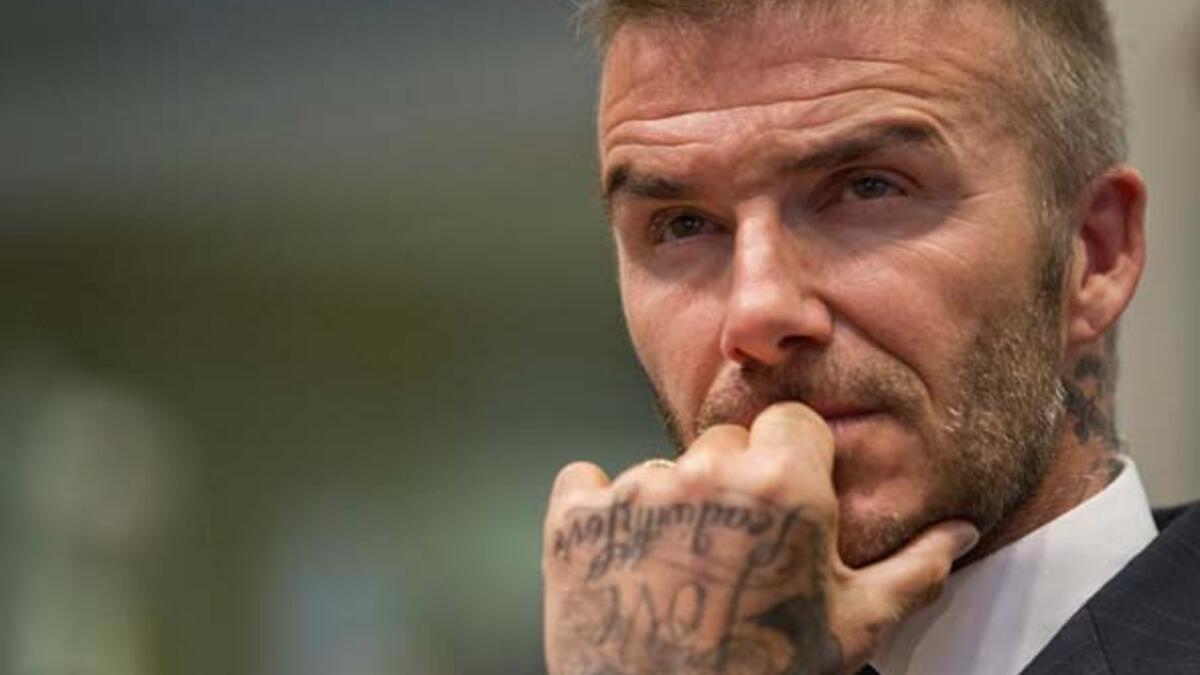 David Beckham'dan dünya futbolunu sallayacak hamle