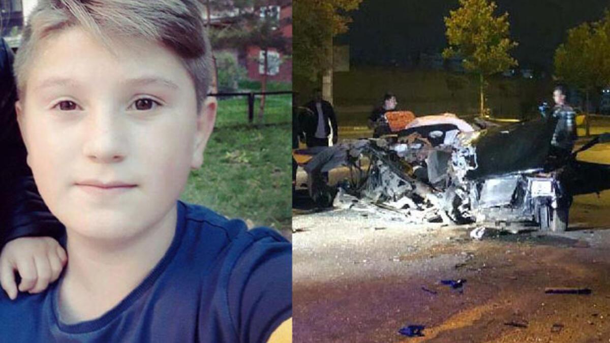 Ankara'da 'drift' kovalamacası: 2 çocuk öldü, 1 yaralı