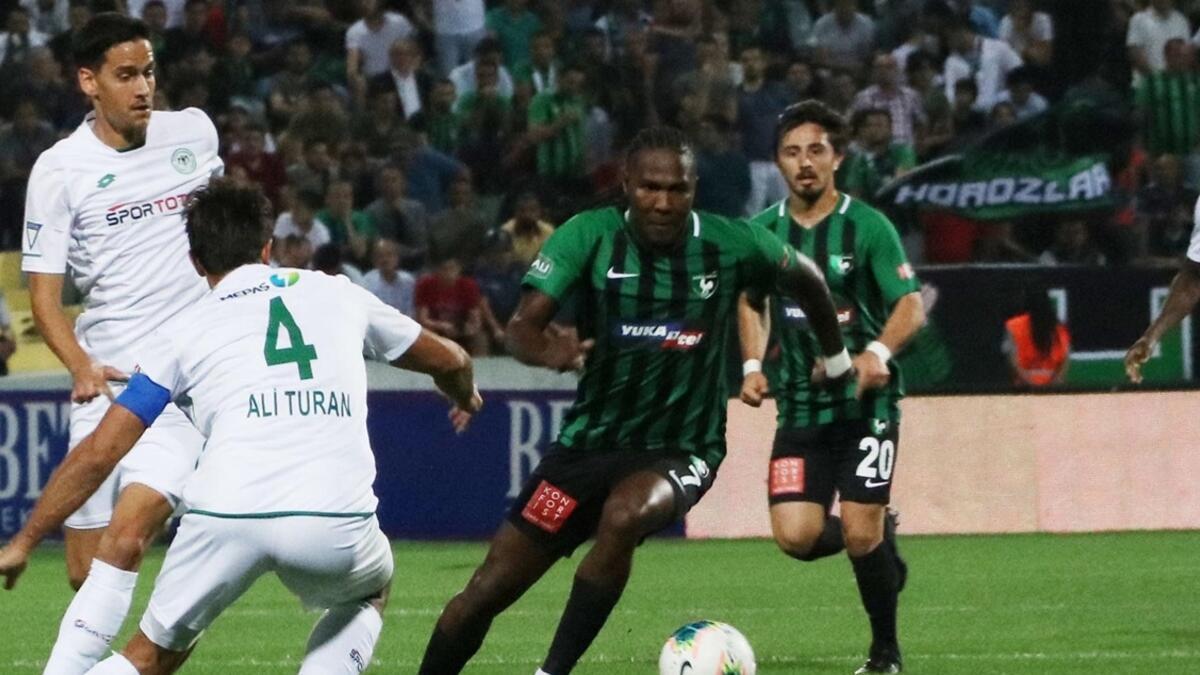 Denizlispor - Konyaspor: 0-1