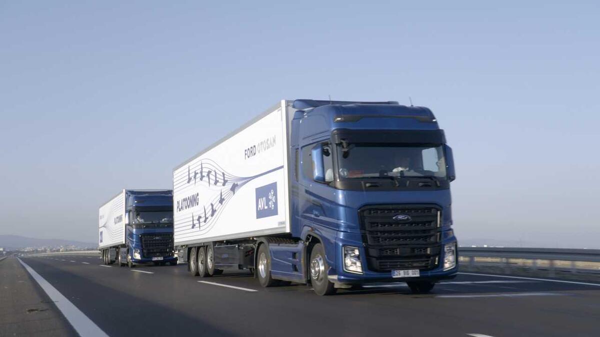 Ford'dan Eskişehir'de 'otonom konvoy' sürprizi