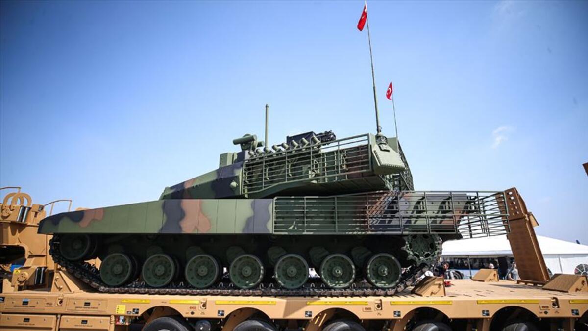 Altay tankı için düğmeye basıldı: Bakın ne geliyor?