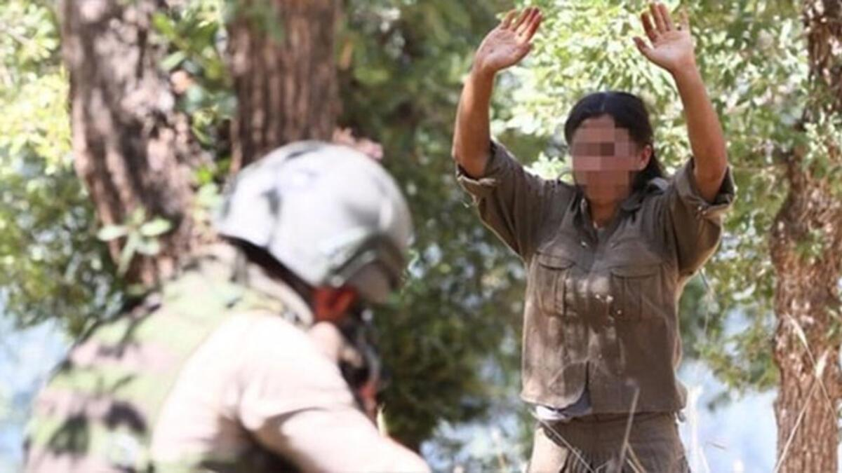 Silopi'de 4'ü kadın 6 PKK'lı terörist güvenlik güçlerine teslim oldu ile ilgili görsel sonucu