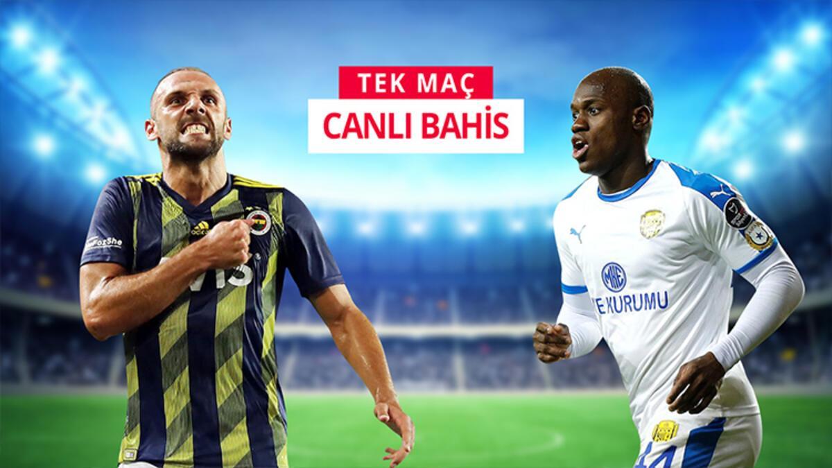 Fenerbahçe'nin konuğu Ankaragücü! iddaa'da en çok 2.5 ÜST tercih ediliyor...