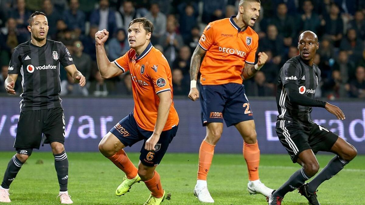 Başakşehir, son 17 resmi maçta Beşiktaş'a sadece 3 kez kaybetti!
