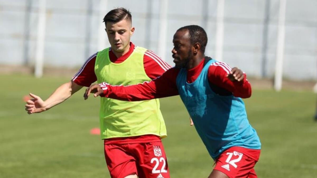 Sivasspor'da Trabzonspor hazırlıkları sürüyor! 3 eksik...