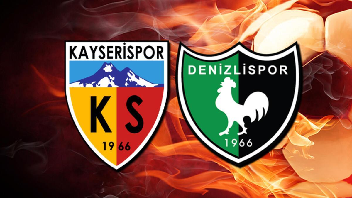 Kayserispor - Denizlispor (Maç önü)