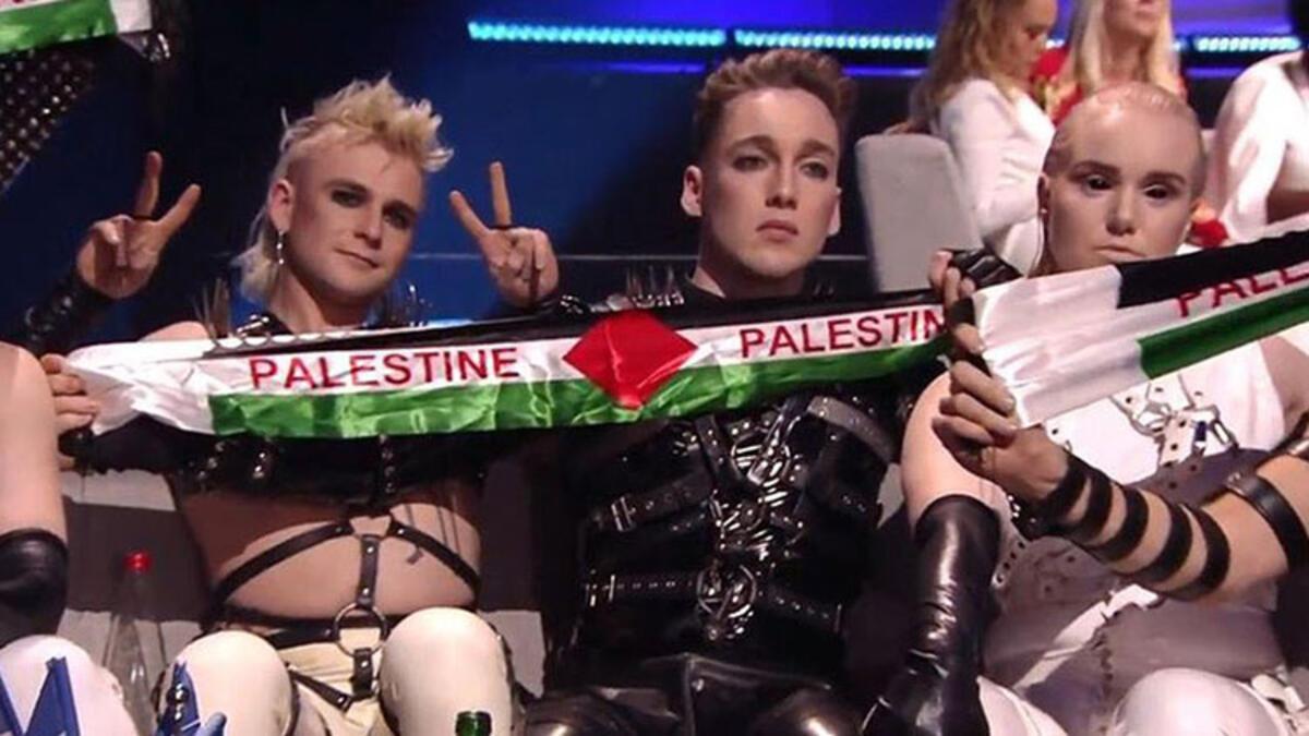 Avrupa Yayın Birliğinden İzlanda'ya 'Filistin bayrağı' cezası