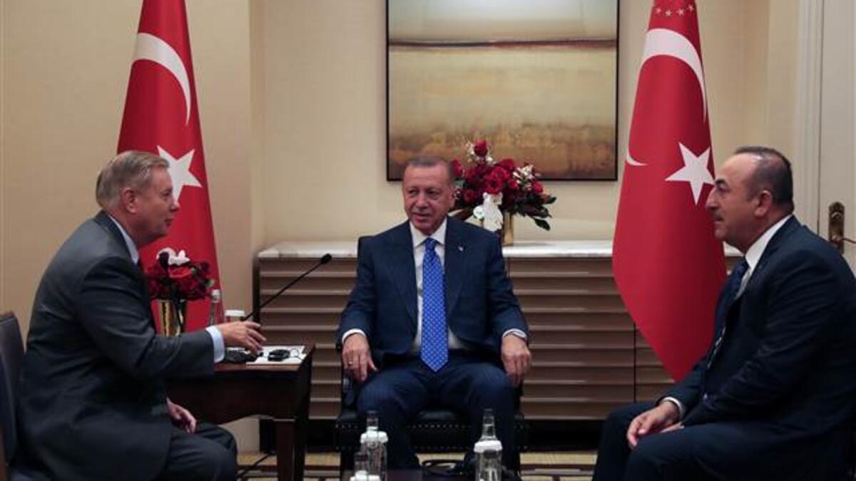 Cumhurbaşkanı Erdoğan ABD'li kritik ismi kabul etti