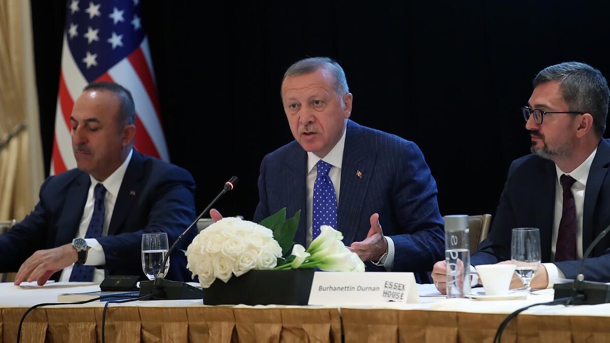 Cumhurbaşkanı Erdoğan, Yuvarlak Masa Toplantısı'na katıldı