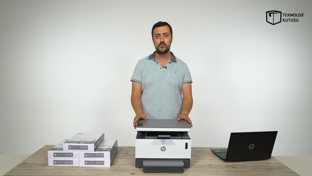 HP'den dünyanın ilk toner doldurulabilir tanklı lazer yazıcısı: HP Neverstop Laser