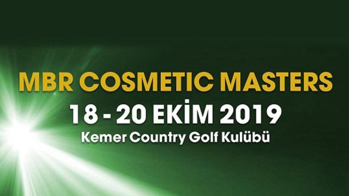 """""""MBR Cosmetic Masters ilk Kez Kemer Country Club'da gerçekleşecek"""