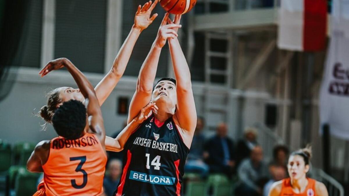 CCC Polkowice: 59 - Bellona Kayseri Basketbol: 64