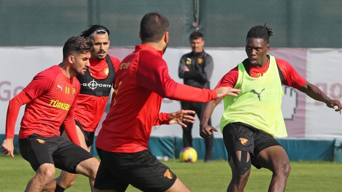 Göztepe, Alanyaspor maçının hazırlıklarını sürdürdü