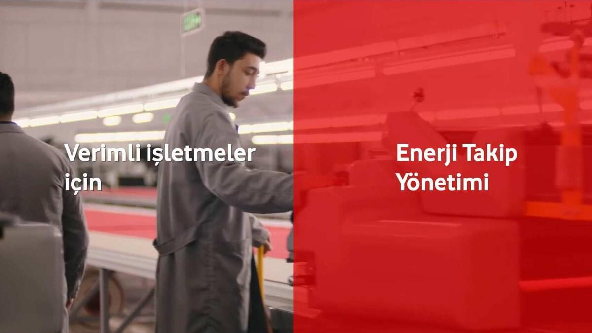 Vodafone Red Kontrol Enerji Takip Yönetimi ile İşletmenizin Verimini Artırın!