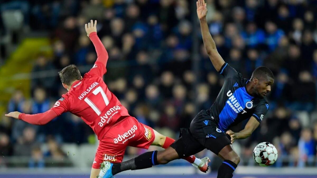 Club Brugge, evinde kazandı