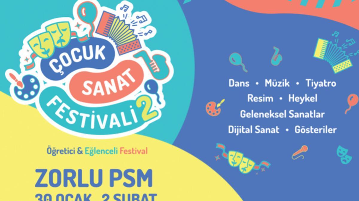 Türkiye'nin ilk 'Çocuk Sanat Festivali' başlıyor