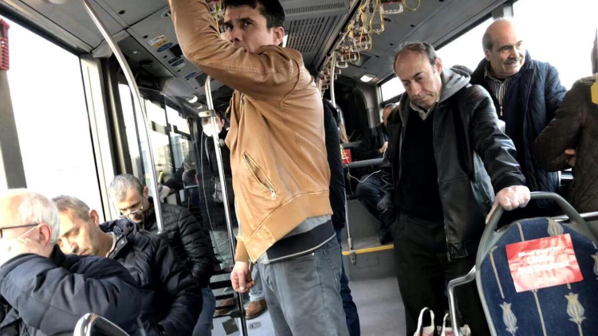 İstanbul'da toplu ulaşımda akşam yoğunluğu