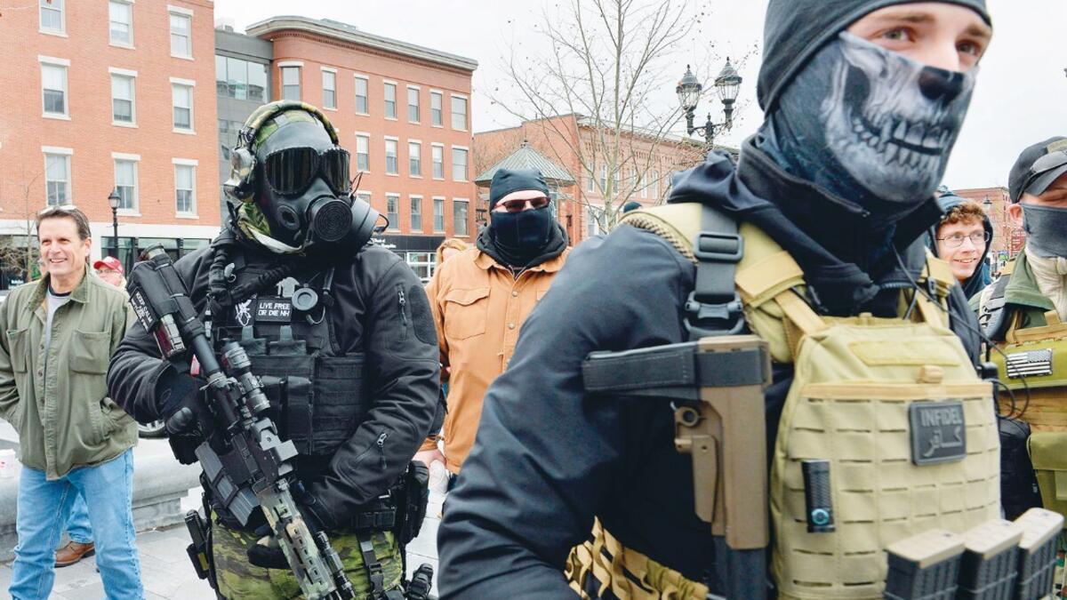 ABD'de 'silahlı' gösteriler sürüyor - Güncel Haberler