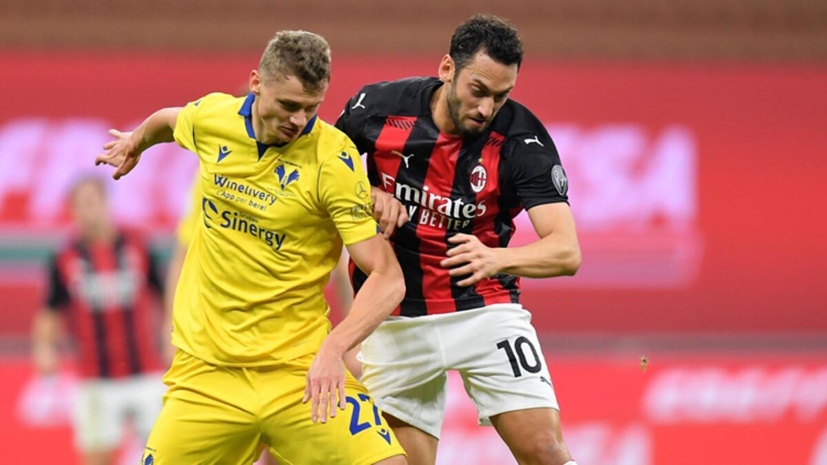 Milan 2-2 Hellas Verona (Maç sonucu ve özeti) - Spor Haberleri