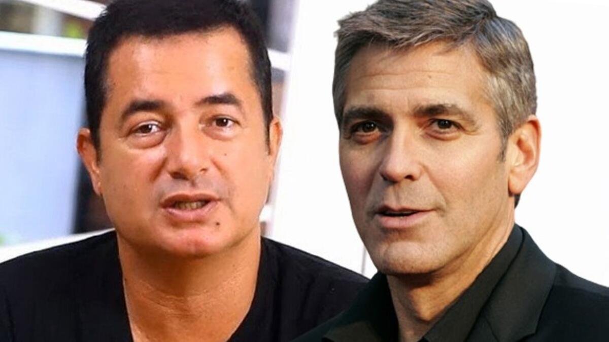 Hangisinin yaptığı daha doğru? Acun Ilıcalı mı George Clooney mi?
