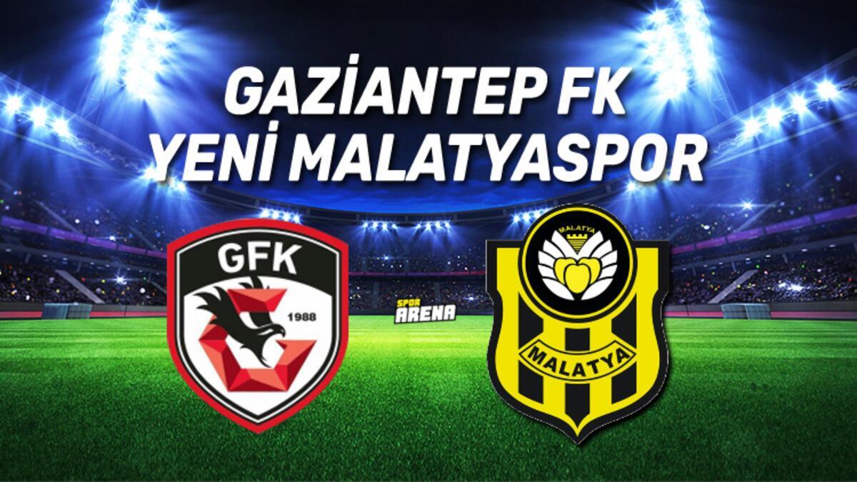 Canlı Anlatım | Gaziantep FK Yeni Malatyaspor maçı - Spor Haberleri
