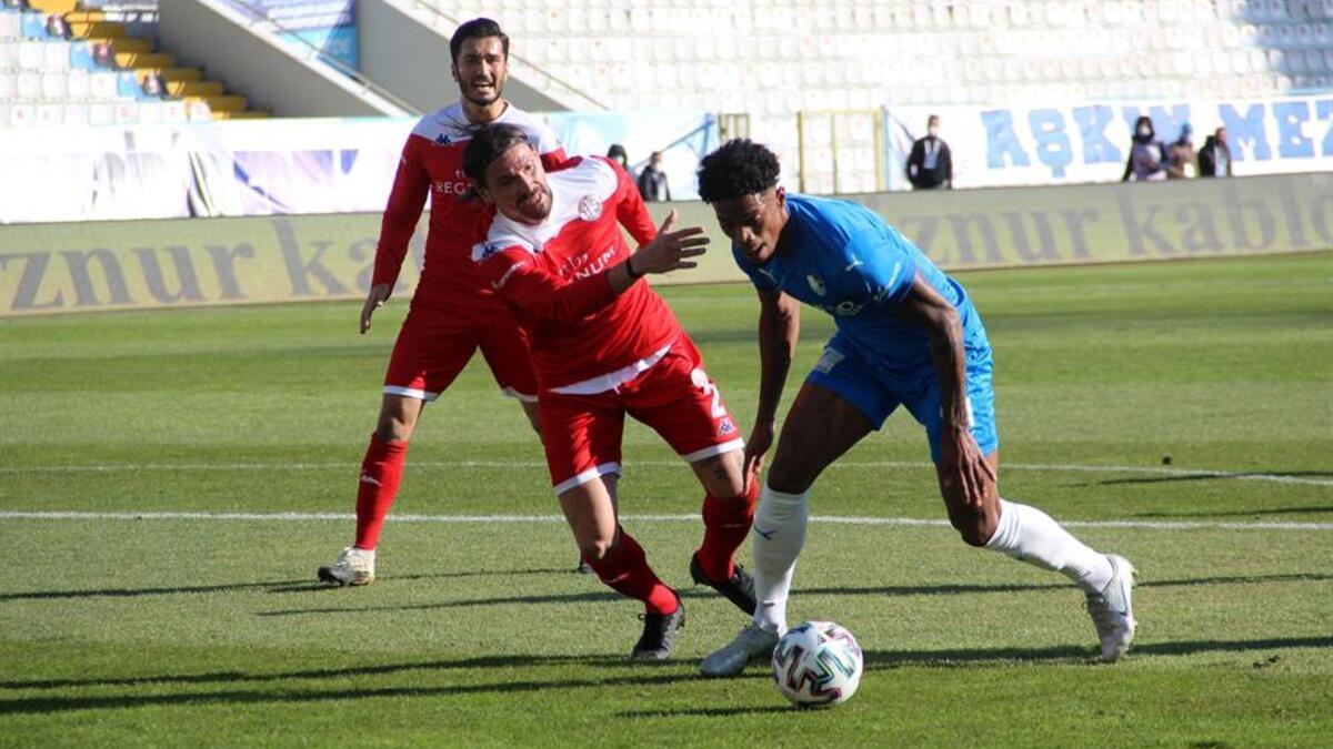 BB Erzurumspor 2-2 Antalyaspor / Maçın özeti ve goller... - Spor Haberleri