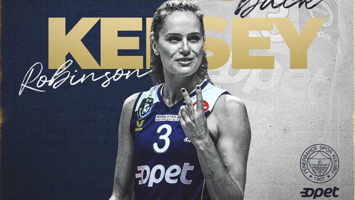 Son Dakika Haberi   Kelsey Robinson yeniden Fenerbahçe Opet'te - Son Dakika  Spor Haberleri