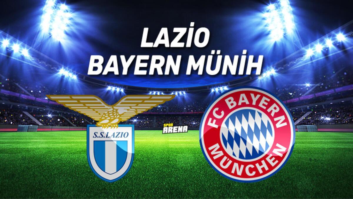 Canlı: Lazio - Bayern Münih maçı