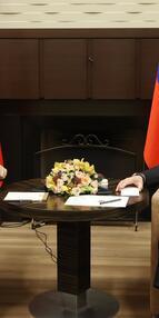 Cumhurbaşkanı Erdoğan: Suriyede barış Türkiye ve Rusya ilişkilerine bağlı