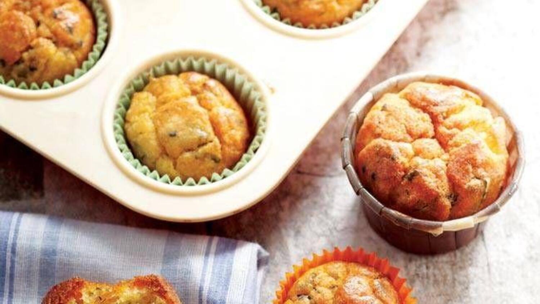 Çörek otlu tulum peynirli muffin tarifi