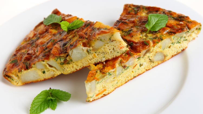 İstiridye mantarlı keçi peynirli İtalyan omleti tarifi
