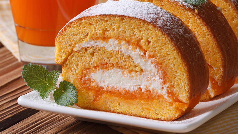 Kayısılı rulo pasta tarifi