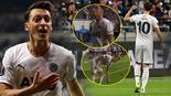 Son Dakika: Frankfurt - Fenerbahçe maçında Mesut Özile tepki Verdiği karşılık olay oldu...