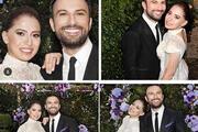 Tarkan ve Pınar Dilekin nikah töreninden özel fotoğraflar